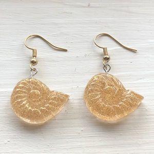 Seashell Earrings Coronado Ursula Shell